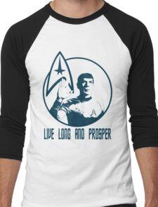 Mr Spock - Live Long & Prosper Men's Baseball ¾ T-Shirt