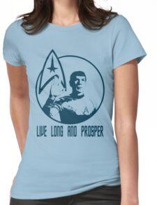 Mr Spock - Live Long & Prosper Womens Fitted T-Shirt
