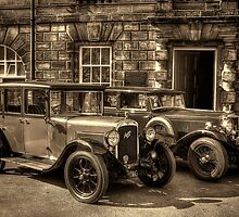 Austin Six and Invicta Pre War Cars - Sepia by © Steve H Clark Photography