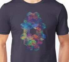 Extra Dimensional Cubes Unisex T-Shirt