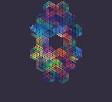 Extra Dimensional Cubes Unisex T-Shirt