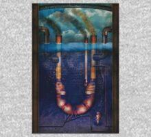Steampunk - Alphabet - U is for Underwater Utopia Kids Tee