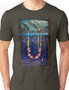 Steampunk - Alphabet - U is for Underwater Utopia Unisex T-Shirt