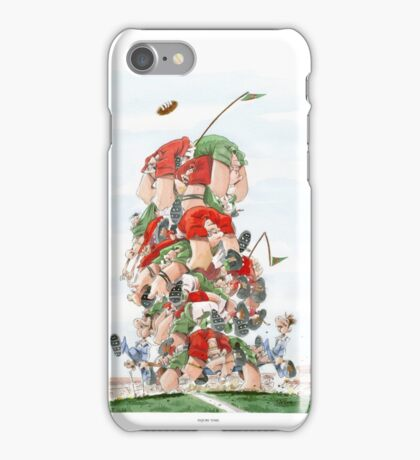 Sporting Print- Injury Time iPhone Case/Skin