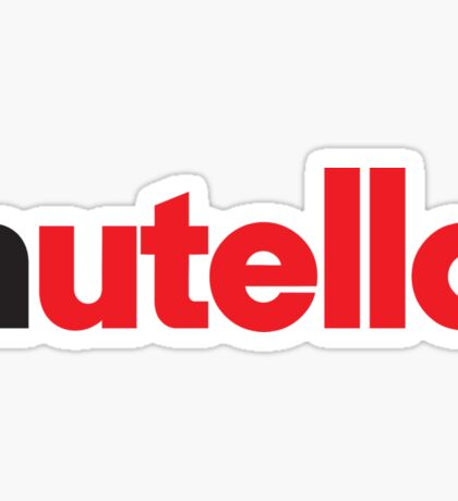 Nutella Sticker