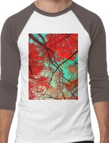 Autumn Trees Men's Baseball ¾ T-Shirt