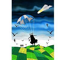 Paper Parachute Photographic Print