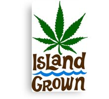 Island Grown Martha's Vineyard Canvas Print