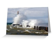 Not a Day for Boating Greeting Card