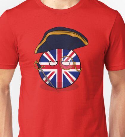 Polandball - Admiral UKball  Unisex T-Shirt