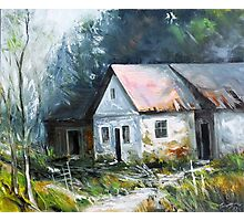 Abandoned farm house Photographic Print