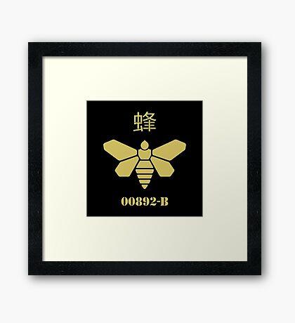 Golden Moth Chemicals Framed Print