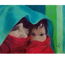 Mother with Child Photographic Print