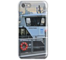 NY Waterway's Ferry Boat Enduring Freedom  iPhone Case/Skin