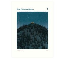 Jack Kerouac - The Dharma Bums Art Print