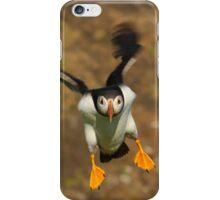 Puffin Landing iPhone Case/Skin