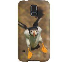 Puffin Landing Samsung Galaxy Case/Skin