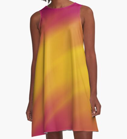 Abstract 161116(08) A-Line Dress