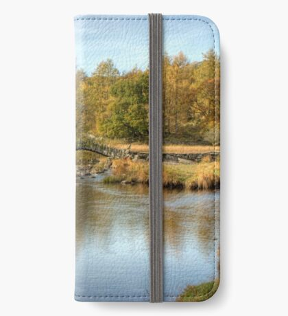 Slater's Bridge, Little Langdale iPhone Wallet/Case/Skin