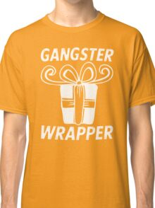 Gangster Wrapper (Rapper) Christmas Bow Present Classic T-Shirt