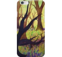 Bluebell Woods Ink Sketch iPhone Case/Skin