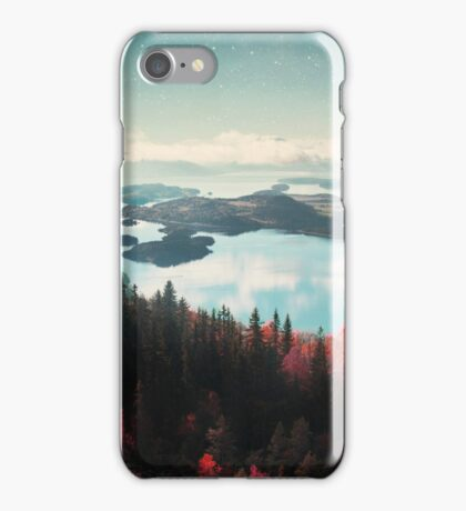 The Forest and the Fjord iPhone Case/Skin