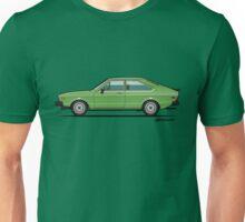Green VDub Dasher Coupe (1973) Unisex T-Shirt