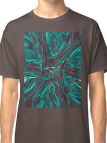 Digital Ocean Mandala Classic T-Shirt