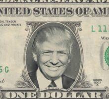 Trump - One Dollar Bill   Sticker