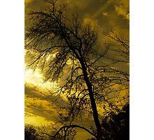 Sunset's Weight Photographic Print