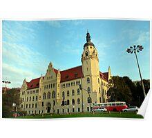 Court Building in Bydgoszcz, Poland Poster