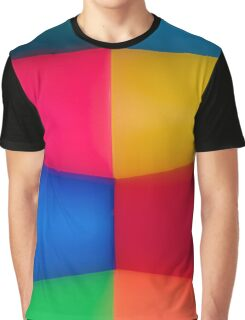 Abstract Multi Coloured Background 2 Graphic T-Shirt