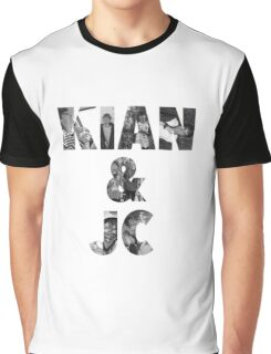 Kian & Jc-letters filled  Graphic T-Shirt