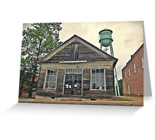 Shop under the Tower Greeting Card