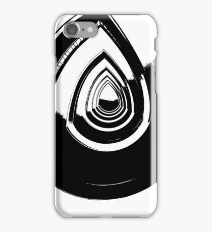 surreal black and white  iPhone Case/Skin