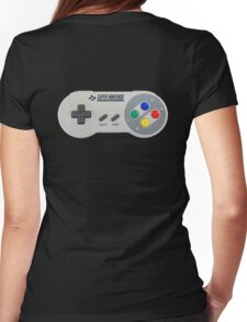 SNES Controller Womens Fitted T-Shirt
