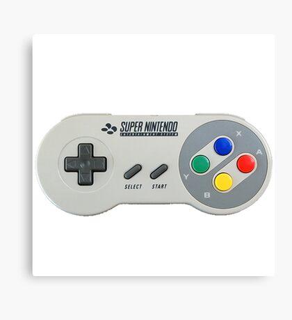 SNES Controller Canvas Print