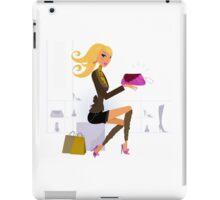 Shopping gold hair girl : New in shop iPad Case/Skin
