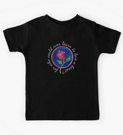 For who could ever learn to love a beast? Kids Tee