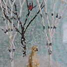 Labrador SnowGlobe by CreativeEm