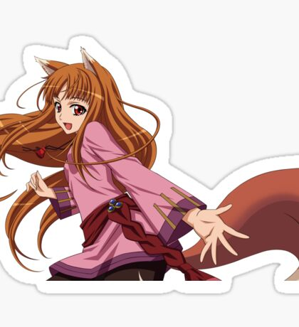 Holo (spice and Wolf) Sticker