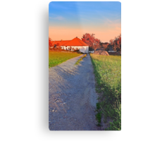 Early summer morning hiking trip | landscape photography Metal Print