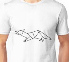 Origami Ferret Unisex T-Shirt
