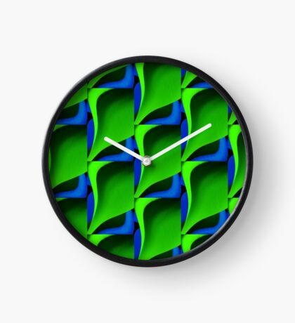 Very Green Design Clock