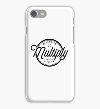 Multiply Circle iPhone Case/Skin