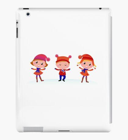 New in kids shop : Original kids artworks / blue red iPad Case/Skin