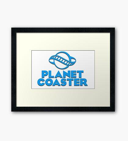 Planet Coaster Framed Print