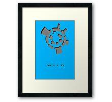 Chozo Artifact of Wild - 3D Minimalist Framed Print