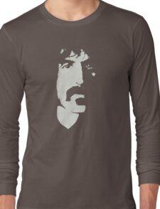 Frank Zappa Silhouette (No Text) Long Sleeve T-Shirt