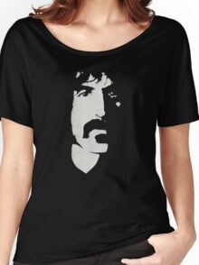 Frank Zappa Silhouette (No Text) Women's Relaxed Fit T-Shirt